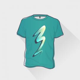Koszulka Męska Kolor z nadrukiem DTG